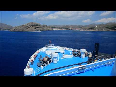 NISSOS RODOS maneuver at Limnos. Cpt Diamantis Papageorgiou. 28/5/2016.
