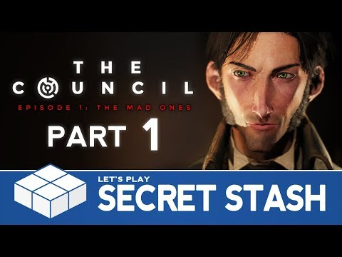 The Council: The Mad Ones #1 - Secret Stash | PC Gameplay