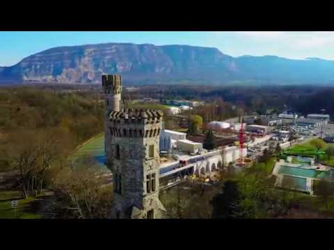 Tour de Champel - Drone Footage