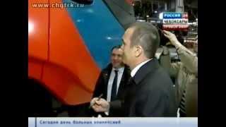 В Чувашии выпустили первый комбайн - ГТРК
