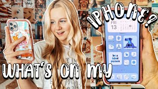 WHAT'S ON MY IPHONE 2020 & MEINE APPS FÜR DIE SCHULE | MaVie Noelle