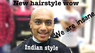 Indian new hairstyle 2017 | full takla |
