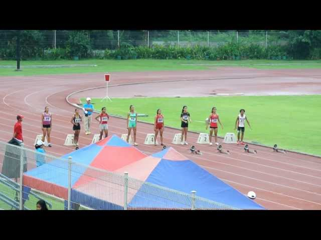 FINAL 60M KEJURNAS SPRINT REMAJA 2012 Travel Video
