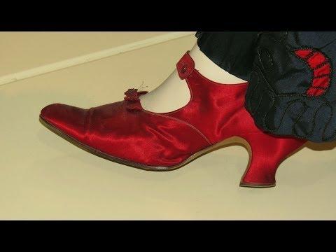 Обувь конца 19 - начала 20 веков