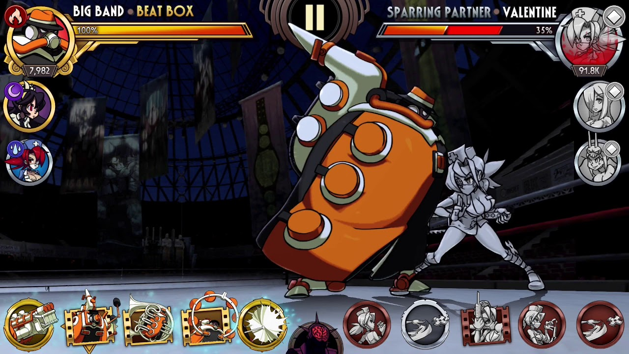 Huge Collections Of Mobile: [Skullgirls Mobile] Big Band Combo Collection