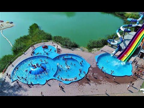 Белгород летний аквапарк Лазурный