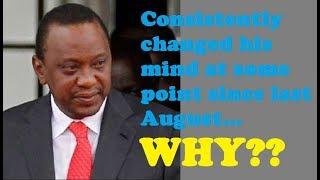 Why Uhuru Will Change His Mind