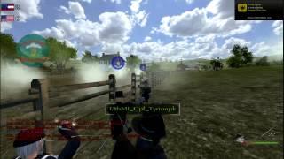 M&B: North & South - Line Battle #1 30.03.13
