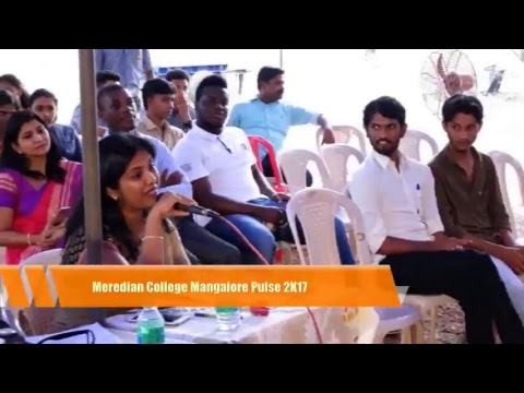 Meredian College Mangalore Intercollegiate Fest 2K17
