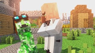 funny minecraft animations
