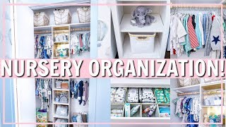 NURSERY ORGANIZATION IDEAS & HACKS! | Alexandra Beuter