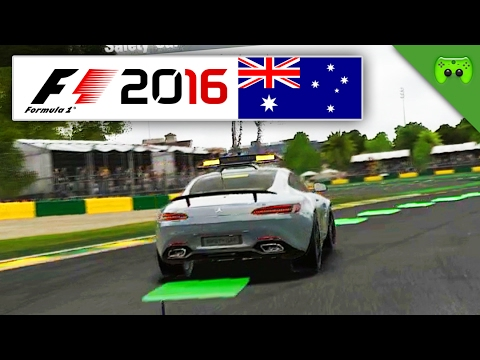 RETURN OF THE SAFETY-CAR | Australien 1/2 🎮 F1 2016 #59