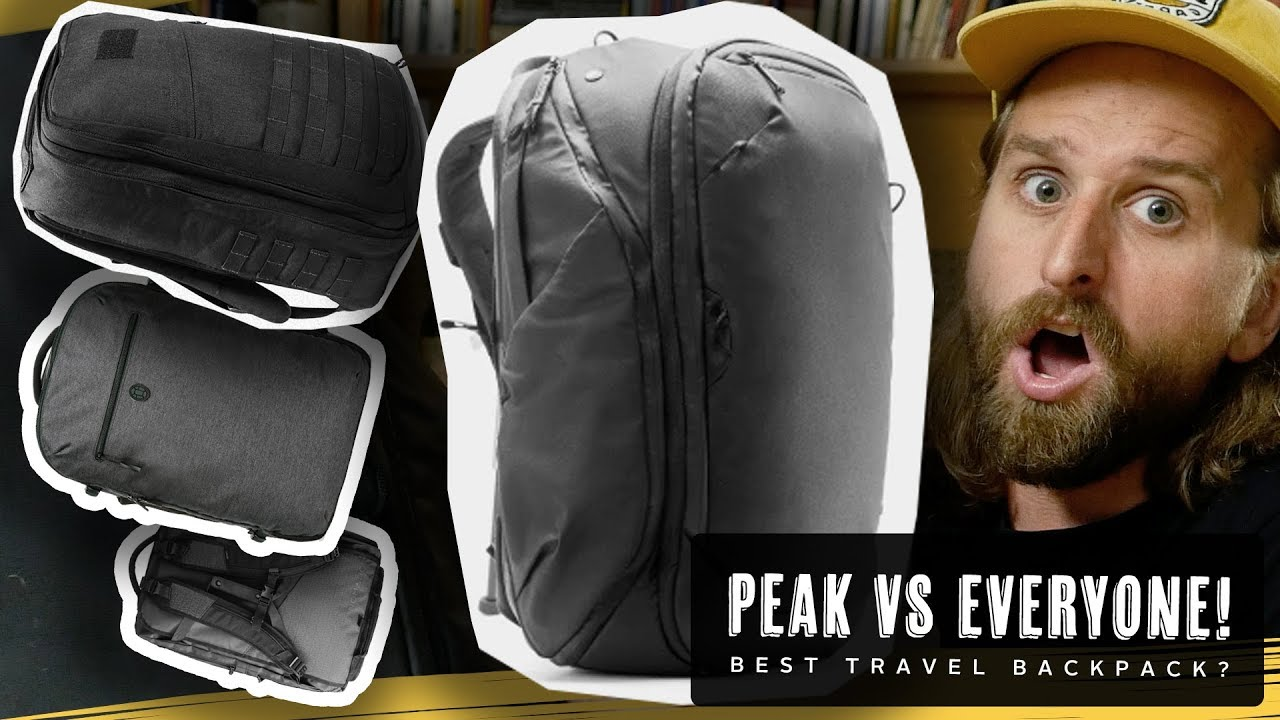 4b98f6ce39 PEAK DESIGN TRAVEL BAG VS NOMATIC