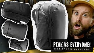 PEAK DESIGN TRAVEL BAG VS NOMATIC, WANDRD, GORUCK
