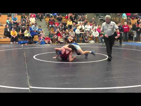 Houston Hootie Crouch Harpeth Middle School 2014 Wrestling MCAC Champ
