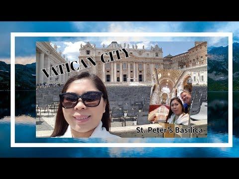 Visited Vatican City/St.Peter's Basilica/PinayInCanada Thomas  Vlog