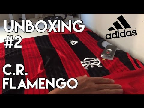 UNBOXING - CAMISA DO FLAMENGO 2018/19