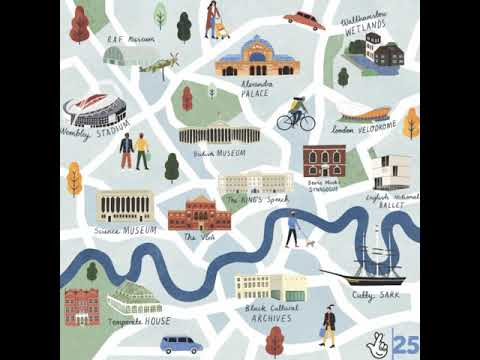 Mapping Impact – Stunning Illustrations Show Scale Of National Lottery Funding