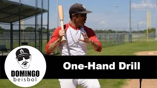 Drills with Domingo Ayala: One Hand Drill