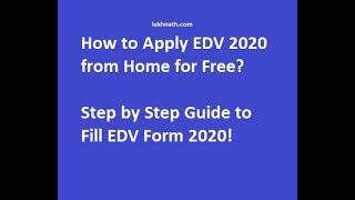 How To Fill DV-2019 {{With PHOTO making techniques}}