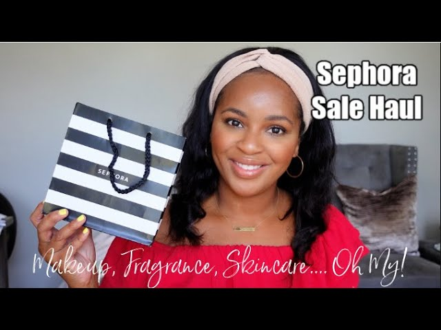 Sephora Sale Haul & More! Fragrance, Makeup, Body Care