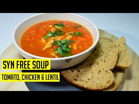 Chicken Tomato Soup Syn Free Slimmingworld Cook With