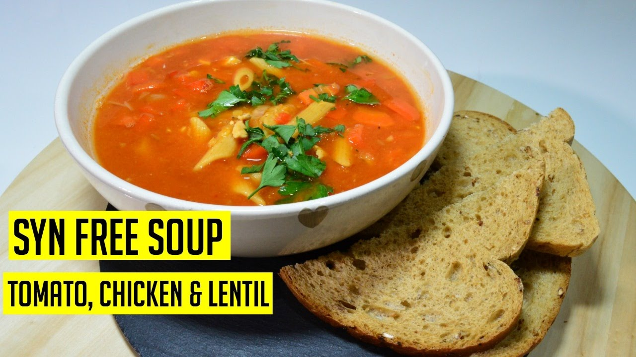 Slimming World Chicken Tomato Soup Recipe Indian Recipes Cook
