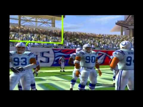 2007 Indianapolis Colts vs 1999 Tennessee Titans Madden NFL 07 Hall Of Fame Edition