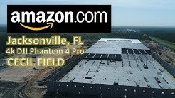 AMAZON construction | Drone Footage | Jacksonville Florida
