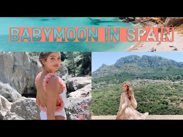 Babymoon in Spain vlog // Belle Lucia