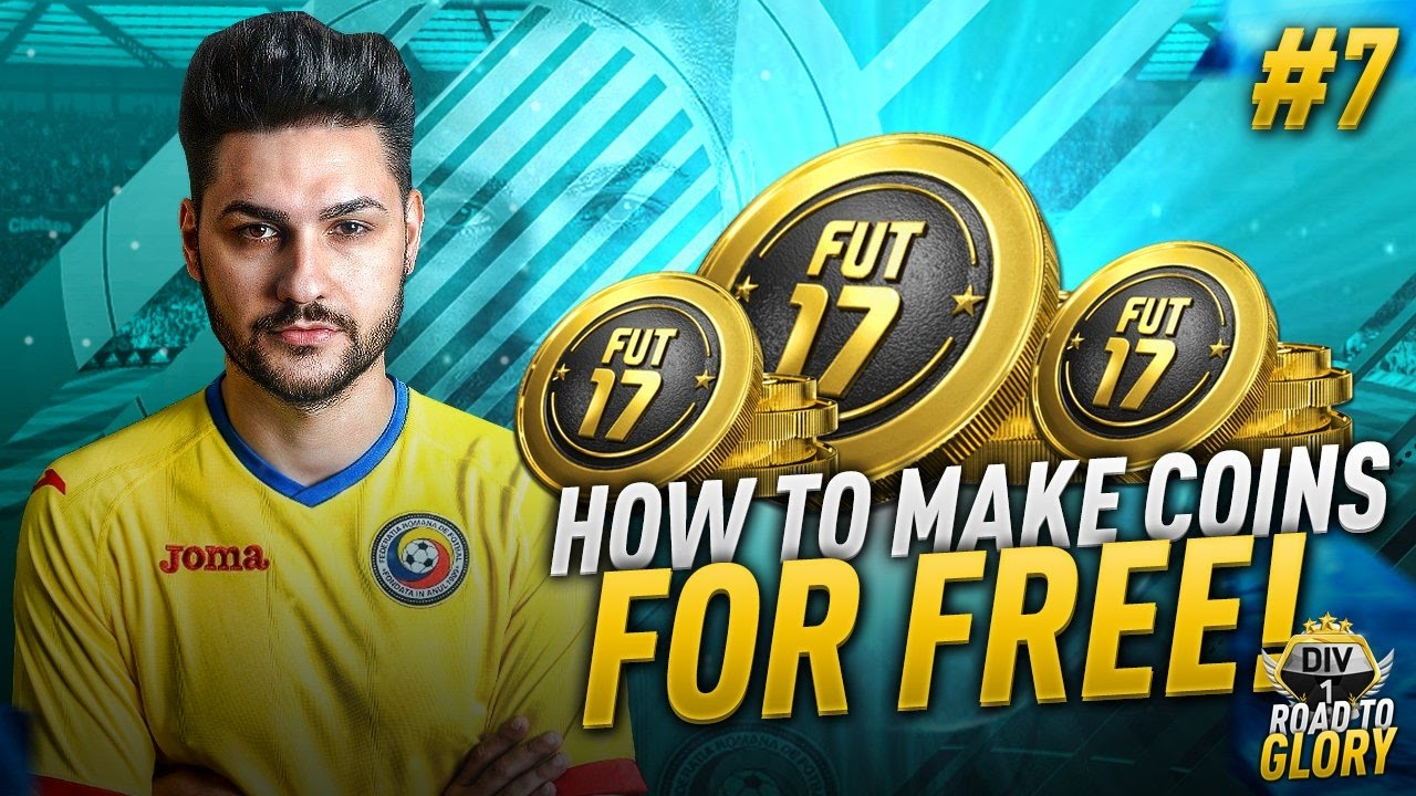 Fifa 17 Road To Glory 7 How To Get Free Fifa Coins 100 Working