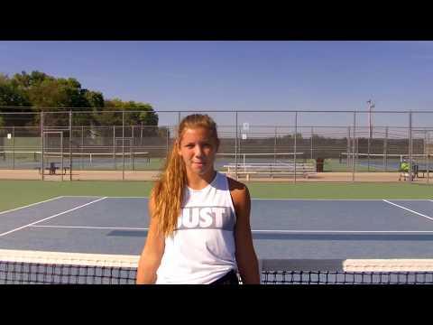 Sophia Dibiase College Tennis Recruitment Video, Senior 2019