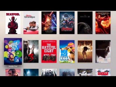 Apple tv 4 Fully loaded - Kodi, Popcorn Time, Safari, Provenance Game player