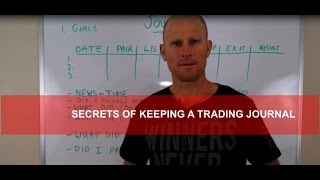 How To Use A TRADING JOURNAL Like A Professional