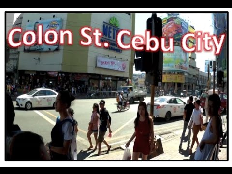 Walk around Colon Street - Cebu City Philippines
