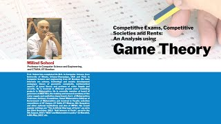 """Institute Colloquium2019 """"Competitive Exams, Competitive Societies An Analysis"""" By Dr Milind Sohoni"""