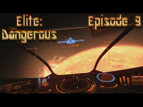 Let's Play Elite  Dangerous - Episode 9: Gold Central Company Found!!