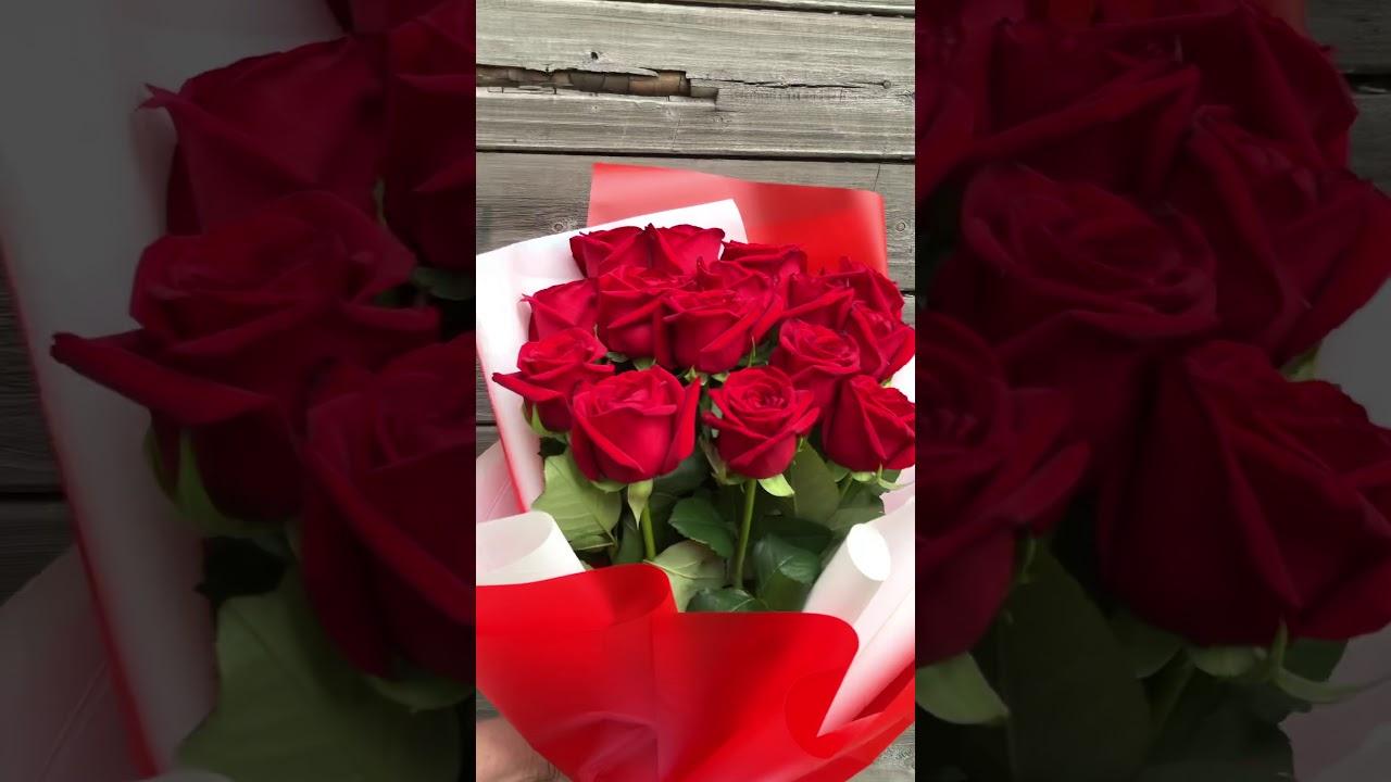 Бест-Серия RED из 15 роз