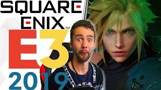 Final Fantasy Fan Blind E3 2019 REACTION! | FF7 Remake, Square Enix ...And More?