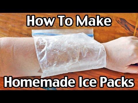 How To Make Homemade Ice Packs