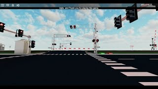 ROBLOX: Control + Test Railroad Crossings in the Display