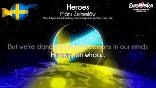 """Måns Zelmerlöw - """"Heroes"""" (Sweden)"""