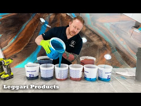 Use Epoxy To Coat Existing Countertops To Make Them Look Like Real Stone Step By Step Explained