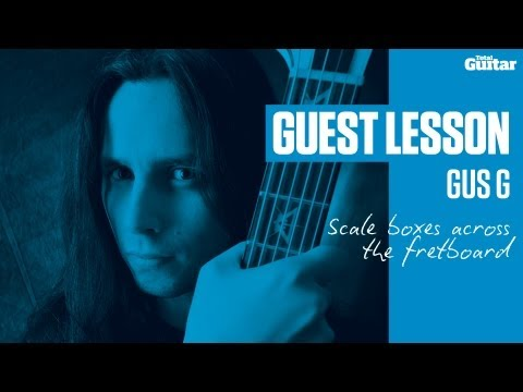 Gus G Guest Lesson - Scale boxes across the fretboard (TG237)