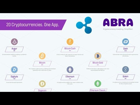 Abra Launches World's First All-In-One Crypto Wallet & Exchange - Includes Ripple XRP!