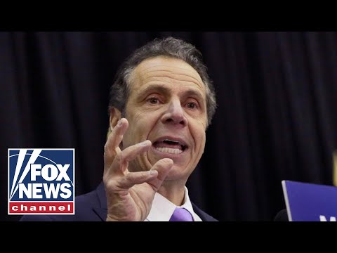 NY Governor Cuomo holds a press conference