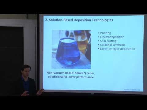 12. Thin Films: Material Choices & Manufacturing, Part I