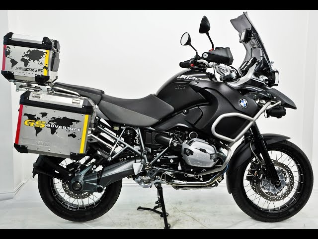 BMW R1200GS Adventure Triple Black 2012