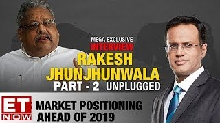 Rakesh Jhunjhunwala's EXCLUSIVE Interview To ET NOW | Part 2