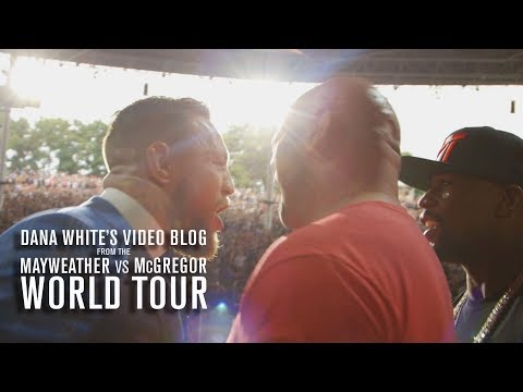 Thumbnail: Dana White's Video Blog | MAY/MAC WORLD TOUR | Ep. 4
